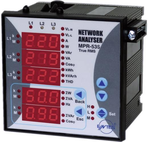 MPR-53S-96 Netzanalysator Einbauinstrument