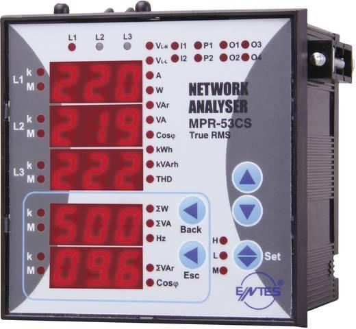 MPR-53CS-96 Netzanalysator Einbauinstrument