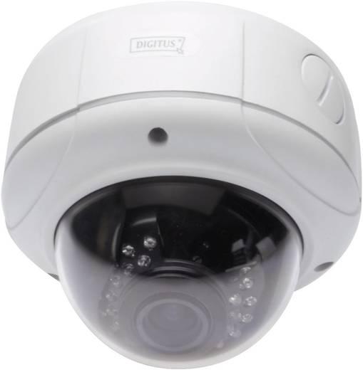 WLAN, LAN IP Kamera 1600 x 1200 Pixel 2,8 - 12 mm Digitus Plug&View OptiDome Pro DN-16043