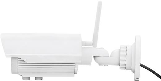 WLAN, LAN IP Kamera 1600 x 1200 Pixel 2,8 - 12 mm Digitus Plug&View Optivario DN-16039