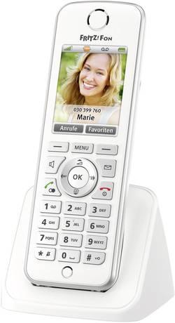 Bezdrôtový VoIP telefón AVM FRITZ!Fon C4 für FRITZ!Box, biela, strieborná