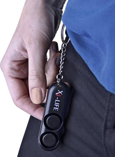 Taschenalarm 120 dB X4-LIFE 701149