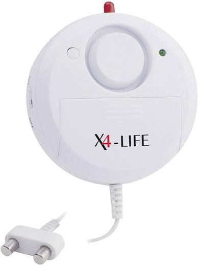 X4-LIFE 701332 Wassermelder mit externem Sensor batteriebetrieben