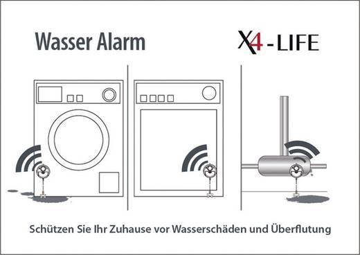 Wassermelder mit externem Sensor X4-LIFE 701332 batteriebetrieben