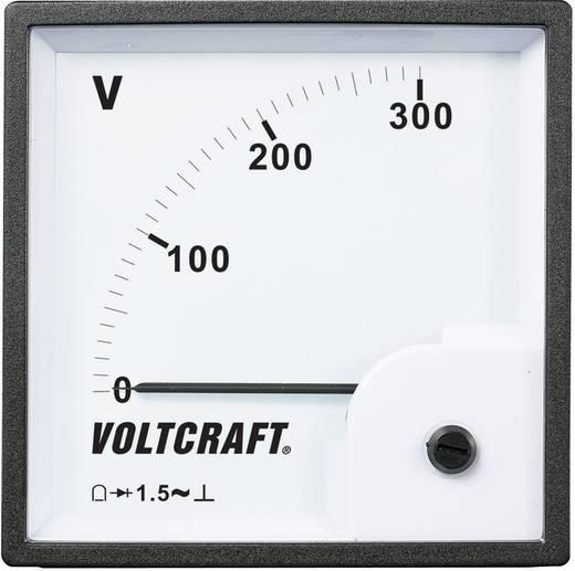 VOLTCRAFT AM-96x96/300V Analog-Einbaumessgerät AM-96x96/300V 300 V Drehspule