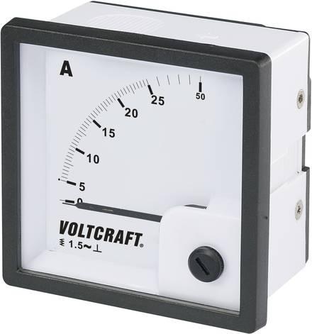Analog Einbaumessgerät mit Amperemeter von Voltcraft