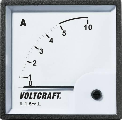 VOLTCRAFT AM-96X96/5 A Analog-Einbaumessgerät AM-96X96/5A 5 A Dreheisen