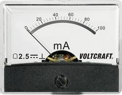 Image of Analoges Einbaumessgerät VOLTCRAFT AM-60X46/100MA/DC 100 mA
