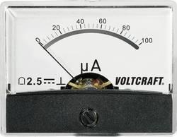 Image of Analoges Einbaumessgerät VOLTCRAFT AM-60X46/100µA/DC 100 µA