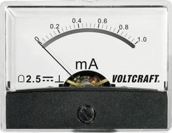 Image of Analoges Einbaumessgerät VOLTCRAFT AM-60X46/1MA/DC 1 mA