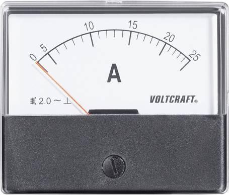 Voltcraft Einbau Dreheisenmesswerk