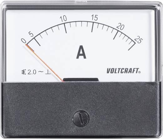 VOLTCRAFT AM-70X60/25A Einbau-Messgerät AM-70X60/25A 25 A Dreheisen