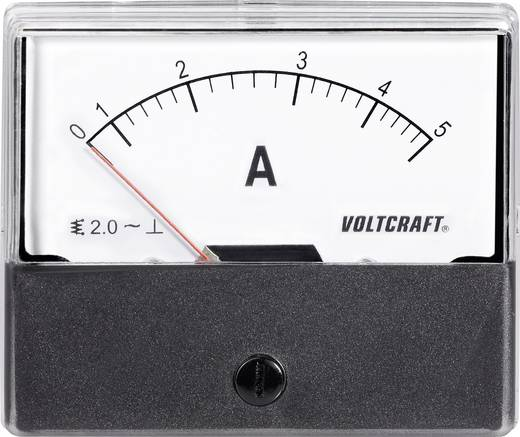 VOLTCRAFT AM-70X60/5A Einbau-Messgerät AM-70X60/5A 5 A Dreheisen