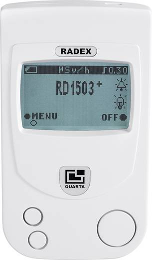RD1503+ Geigerzähler, Radioaktivitäts-Messgerät, Dosimeter 0.05 bis 9.99 µSv/h Strahlungsmessgerät