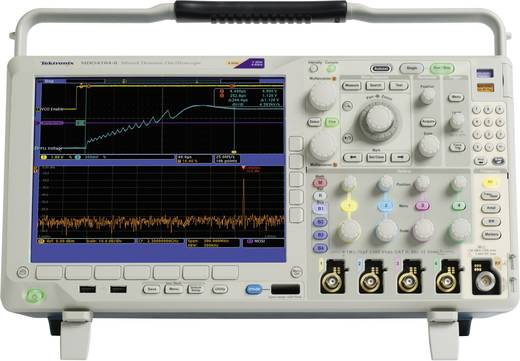 Digital-Oszilloskop Tektronix DPO4054B 500 MHz 4-Kanal 2.5 GSa/s 20 Mpts 11 Bit Kalibriert nach ISO Digital-Speicher (DS