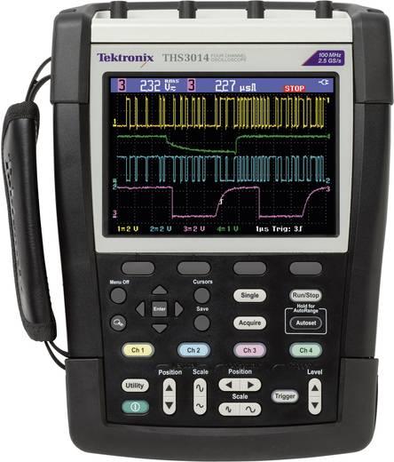 Hand-Oszilloskop (Scope-Meter) Tektronix THS3024 200 MHz 4-Kanal 1.25 GSa/s 2.5 kpts 8 Bit Kalibriert nach ISO Digital-S