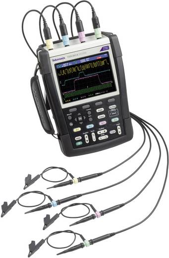 Hand-Oszilloskop (Scope-Meter) Tektronix THS3014-TK 100 MHz 4-Kanal 1.25 GSa/s 2.5 kpts 8 Bit Kalibriert nach DAkkS Digi