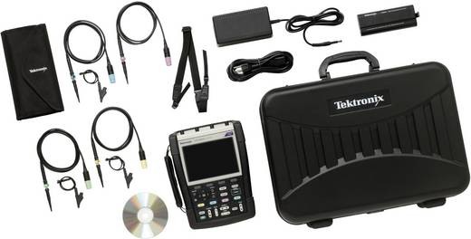 Hand-Oszilloskop (Scope-Meter) Tektronix THS3024-TK 200 MHz 4-Kanal 1.25 GSa/s 2.5 kpts 8 Bit Kalibriert nach DAkkS Digi