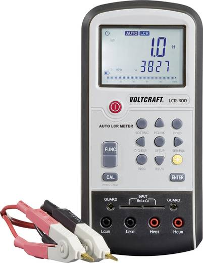 Komponententester digital VOLTCRAFT LCR-300 Kalibriert nach: ISO CAT I Anzeige (Counts): 20000