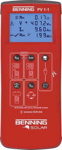 Benning PV 1-1 Installationstester Kalibriert nach ISO
