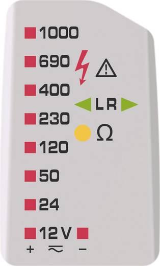 Benning DUSPOL expert Zweipoliger Spannungsprüfer CAT III 1000 V, CAT IV 600 V Akustik, LED, Vibration Werksstandard (oh