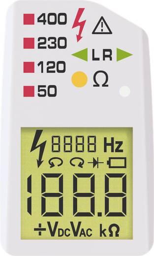 Benning DUSPOL digital Zweipoliger Spannungsprüfer CAT III 1000 V, CAT IV 600 V LCD, Akustik, Vibration Werksstandard (o