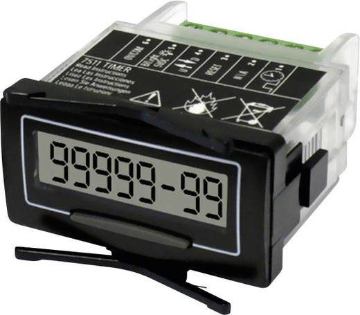 Trumeter 7511HV Selbstversorgter Betriebsstundenzähler 8-stellig