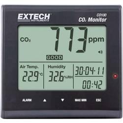 Image of Extech CO100 Luftqualitäts-Messgerät, Anzeige von Kohlendioxid, Lufttemperatur, Luftfeuchtigkeit, 0 - 9999 ppm CO2,