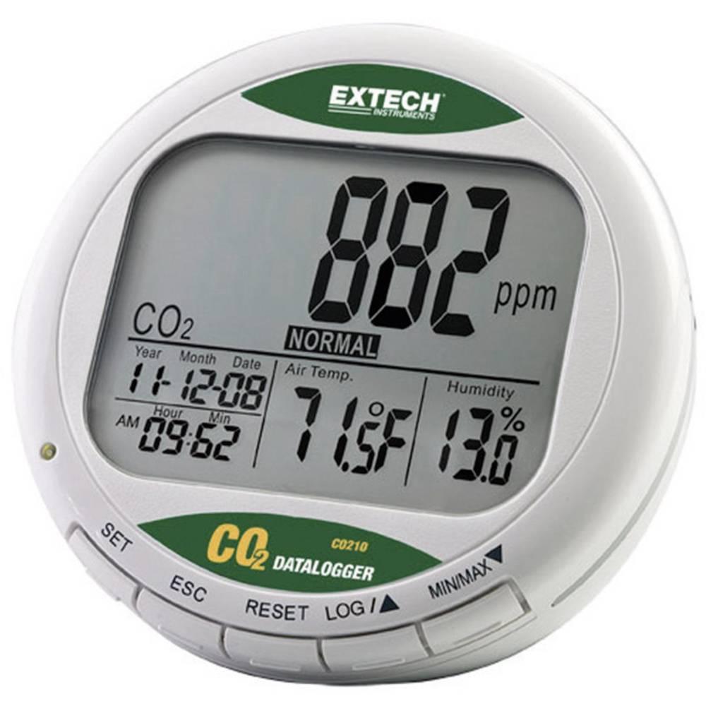 extech co210 appareil de mesure de la qualit de l 39 air avec enregistreur de donn es affichage. Black Bedroom Furniture Sets. Home Design Ideas