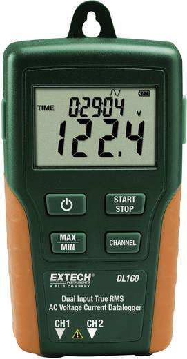 Multi-Datenlogger Extech DL160 Messgröße Strom, Spannung 10 bis 600 V/AC 10 bis 200 A