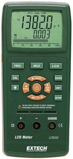 Komponententester digital Extech LCR200 Kalibriert nach: ISO CAT I Anzeige (Counts): 20000