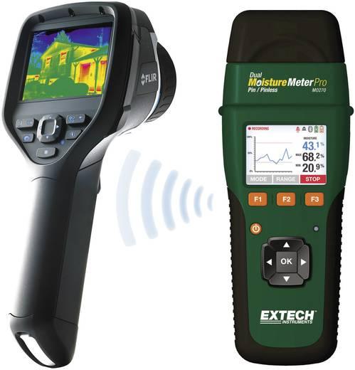 Materialfeuchtemessgerät Extech MO270 Messbereich Baufeuchtigkeit (Bereich) 0 bis 99.9 % vol Messbereich Holzfeuchtigkeit (Bereich) 6 bis 99.9 % vol