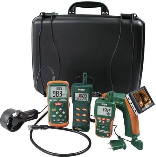 Materialfeuchtemessgerät Extech MO290-EK Messbereich Baufeuchtigkeit (Bereich) 0 bis 99.9 % vol Messbereich Holzfeuchtigkeit (Bereich) 0 bis 99.9 % vol Set