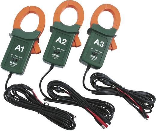 Extech PQ34-12 AC-Stromzangenadapter-Set, Max. 1200 A, 50 mm Zangenöffnung, Passend für Leistungsanalysegerät EXTECH PQ3450, PQ3470