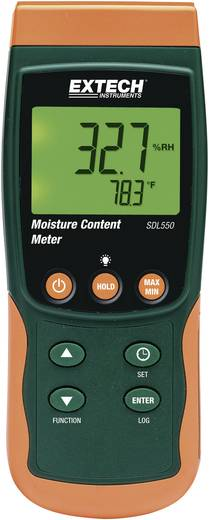 Luftfeuchtemessgerät (Hygrometer) Extech SDL550 5 % rF 95 % rF Datenloggerfunktion Kalibriert nach: Werksstandard