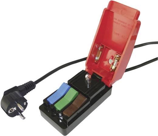 Messadapter Schutzkontakt-Winkelstecker - Schnellanschluss Cliff CL1860