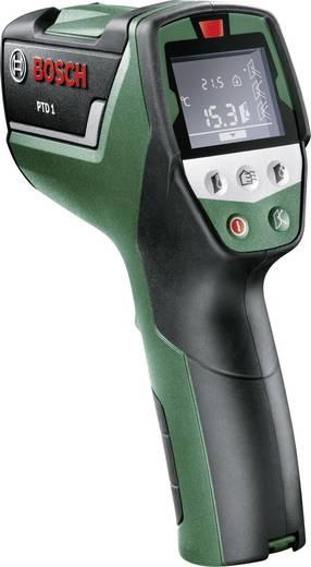 Infrarot-Thermometer Bosch Home and Garden PTD1 Optik 10:1 -20 bis +200 °C Kalibriert nach: DAkkS