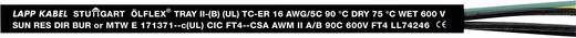 Steuerleitung ÖLFLEX® TRAY II 4 G 1 mm² Schwarz LappKabel 221804 76 m