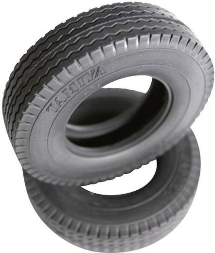 Tamiya 1:14 LKW Reifen 22 mm Straßenprofil 1 Paar
