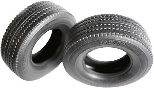Tamiya 1:14 LKW Reifen 30 mm Straßenprofil 1 Paar