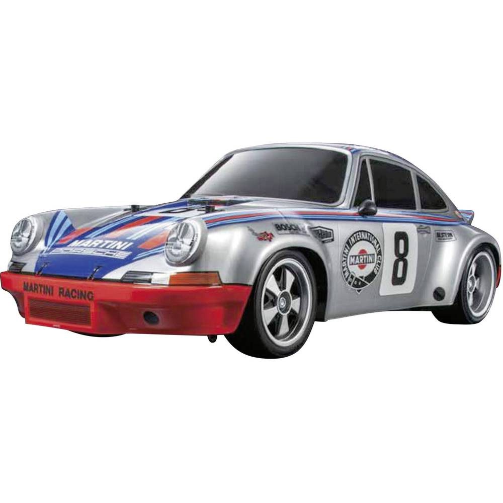 voiture de tourisme lectrique tamiya porsche 911 carrera rsr 300058571 4 roues motrices brushed. Black Bedroom Furniture Sets. Home Design Ideas