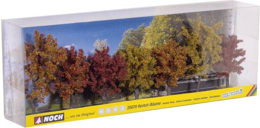 Baumpackung Herbstbäume 80 bis 100 mm NOCH 25070 Herbst 7 St.