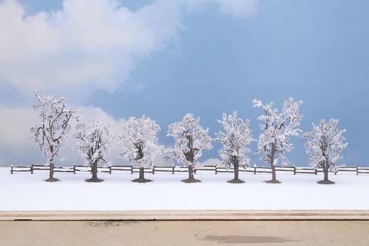 Baumpackung Winterbäume 80 bis 100 mm NOCH 25075 Schnee-Weiß 7 St.