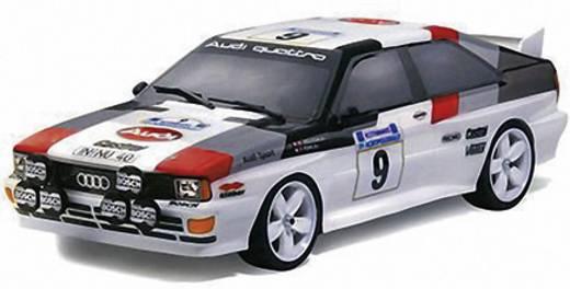 Carson Modellsport 500013730 1:10 Karosserie Audi Quattro Gruppe 4 Unlackiert