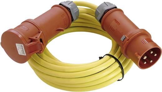 Strom Verlängerungskabel [ CEE-Stecker - CEE-Kupplung] 16 A Gelb 25 m mit Phasenwender as - Schwabe 60716