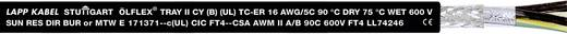 LappKabel ÖLFLEX® TRAY II CY Steuerleitung 7 G 2.50 mm² Schwarz 2214070 610 m