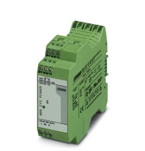 Phoenix Contact MINI-SYS-PS-100-240AC/24DC/1.5 Hutschienen-Netzteil (DIN-Rail) 24 V/DC 1.5 A 36 W 1 x