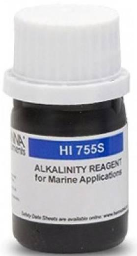 Hanna Instruments HI 755-26 Flüssig Reagenzien Alkalinität, 25 Tests für Photometer HI-755