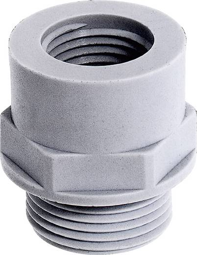 Kabelverschraubung Adapter PG9 M16 Polyamid Licht-Grau (RAL 7035) LappKabel SKINDICHT A-PG/M 9/16X1,5 25 St.