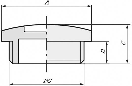 Verschlussschraube mit O-Ring PG29 Messing Natur LappKabel SKINDICHT BL PG 29 +0-RING 50 St.